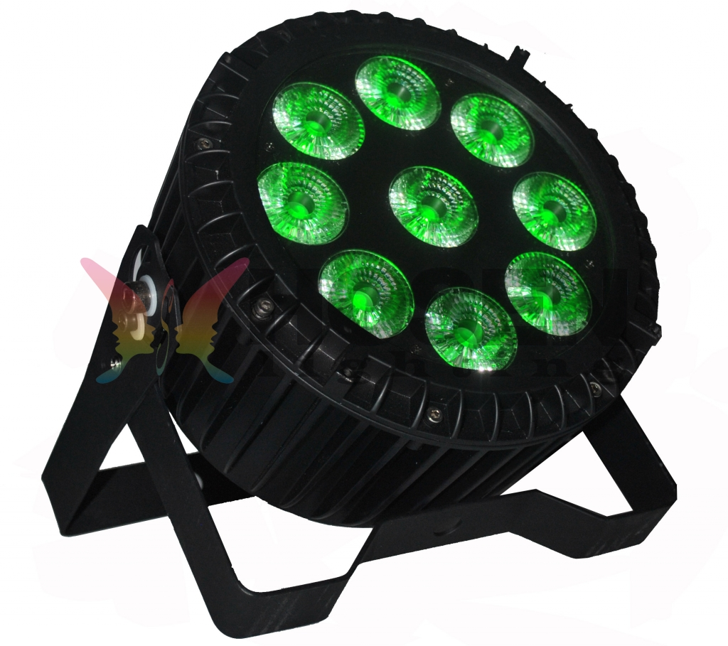 RGBWAP 6-in-1 outdoor waterproof led par light HS-P64-0918OUT