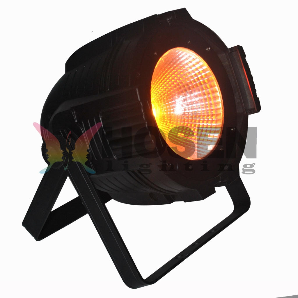COB 100W RGB full color led par (wide angle)  HS-P64-100COB