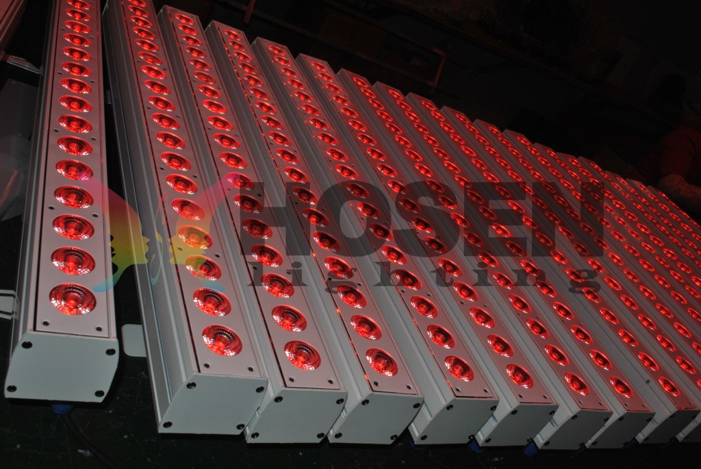 18x10w RGBW 4in1 indoor  led wall washer HS-LW1810IN
