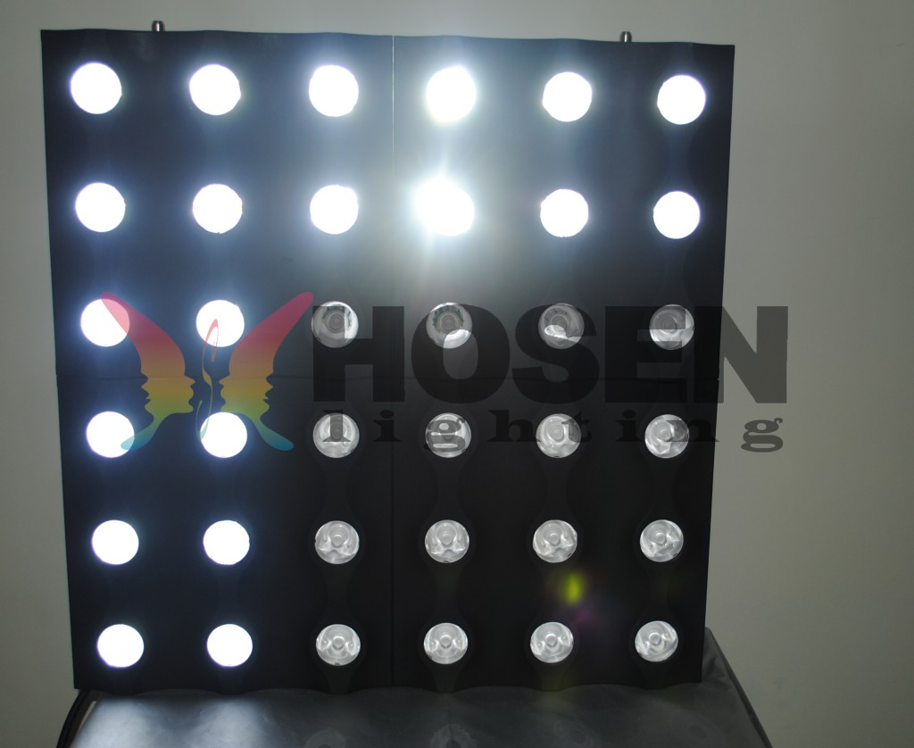 36eyes 3W  Golden matrix light  HS-LBL3603 (Hanging for rental business)
