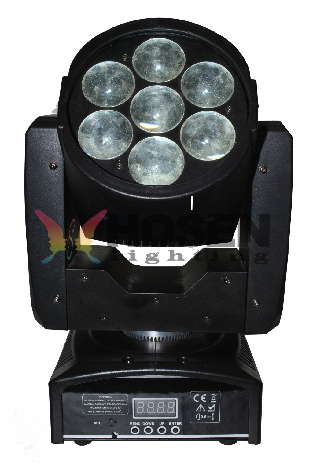 7*12W RGBW 4in1 LED ZOOM  moving head light