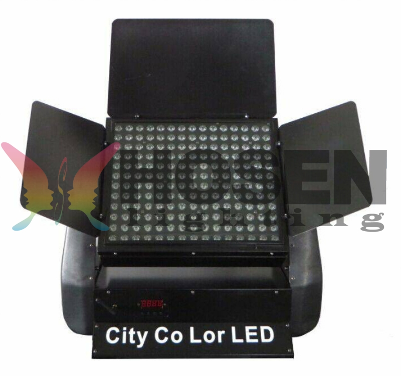 180x3w RGB 3in1 outdoor Led city color HS-LW18003