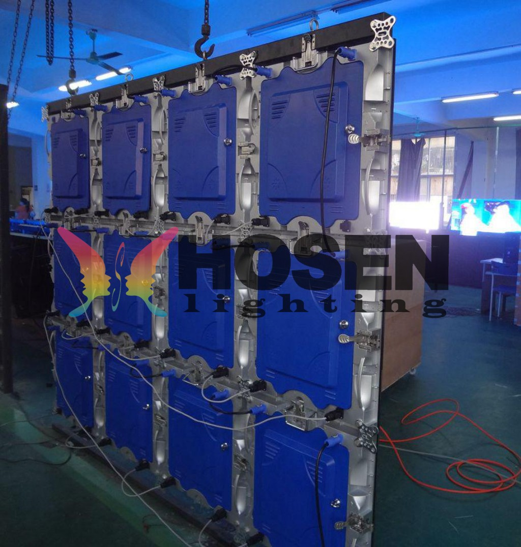 P4 indoor die-casting aluminum cabinet for rental HS-LDP4IN P4